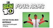 Four arms facepaint 6