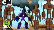 Ben 10 Rust Bucket Cartoon Network