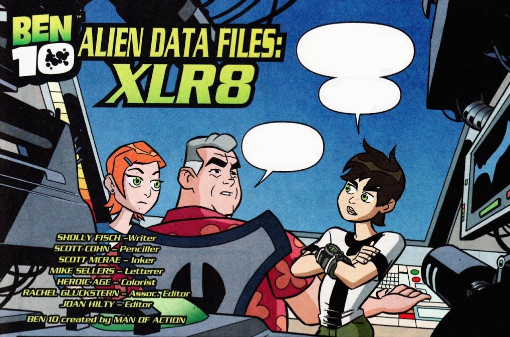 Alien Data Files: XLR8