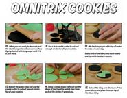 Omnitrix cookies 3