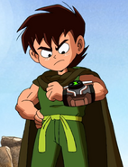 Ben in Tales from the Omnitrix without the Hoodie