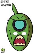 Wildvine mask