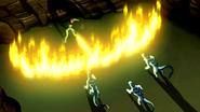 Swampfire and Vulpimancers
