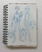 Ben Gwen Alien Force Concept Art Murakami.png
