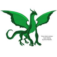 Dragon Visor Colors
