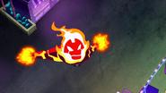 Fuego impulsandose