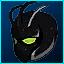 Máscara de Alien X em Fusion Fall