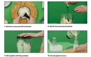 Omni green milkshake 2