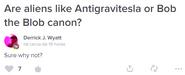 Antigravitesla e Bob a Bolha são canônicos