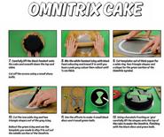 Omnitrix cake 3