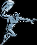 Kevin UAF action pose 4