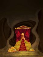 Queen Bee Throne Background