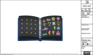 Adrenaland Jr. Gwen's Pin Book