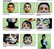 Xlr8 facepaint 2