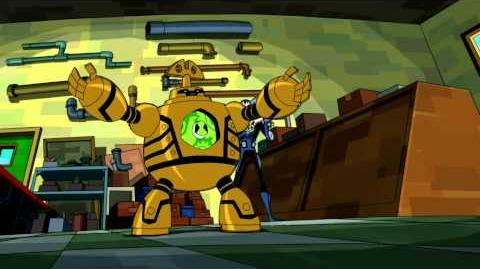 Ben 10 Omniverse - Clockwork Transformation and use of his new found power