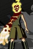 Kevin as Pyronite