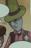Prisoner From the Planet Dustov with a Hat