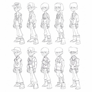 Ben 23 Unused Outfits