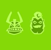 Jetray Decagon Icons