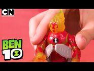 Ben 10 HEATBLAST in Hex and Smythe Unite! - Ben 10 Toys - Cartoon Network