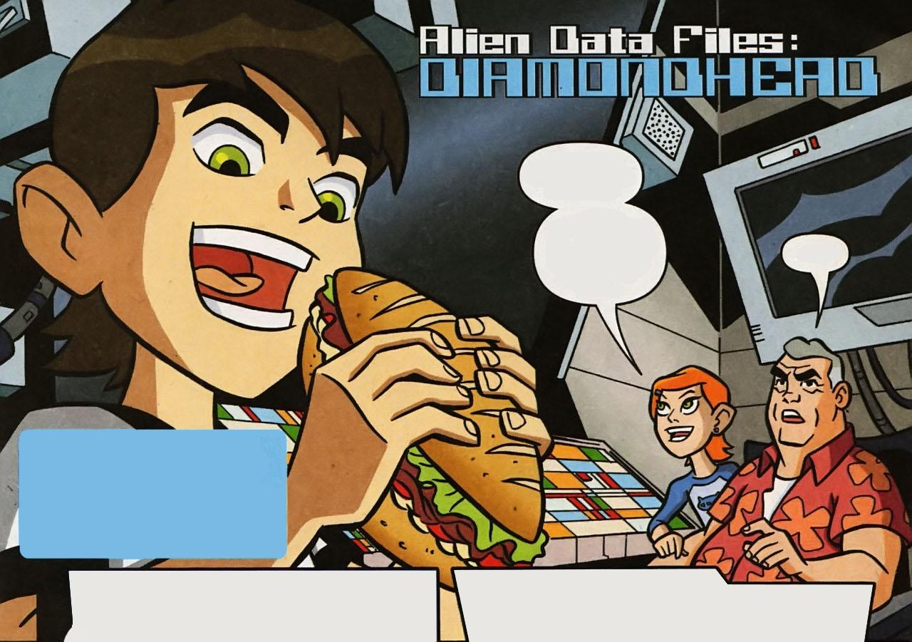 Alien Data Files: Diamondhead