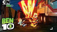 Ben 10 Camping FAILS! Cartoon Network