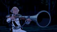 George Washington apontando sua arma
