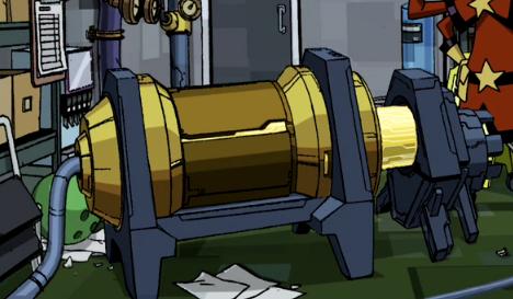 Warp Field Generator