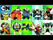 Every Omni-Kix Alien from Season 4 & Movie - Ben 10 - Cartoon Network