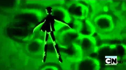 Ben 10 Ultimate Alien - Ultimate Alien X Transformation