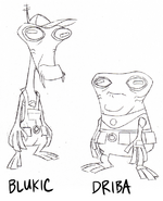 Blukic and driba skectch