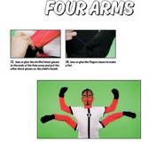 Four arms facepaint 5