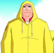 OS Max Yellow Raincoat