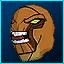 Máscara de Enormossauro em Fusion Fall