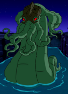 Dagon serpent form