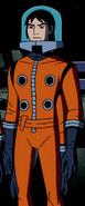 Kevin Orange Spacesuit