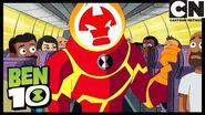 Ben Tries the Fastest Train in the World Speed of Sound Ben 10 Cartoon Network