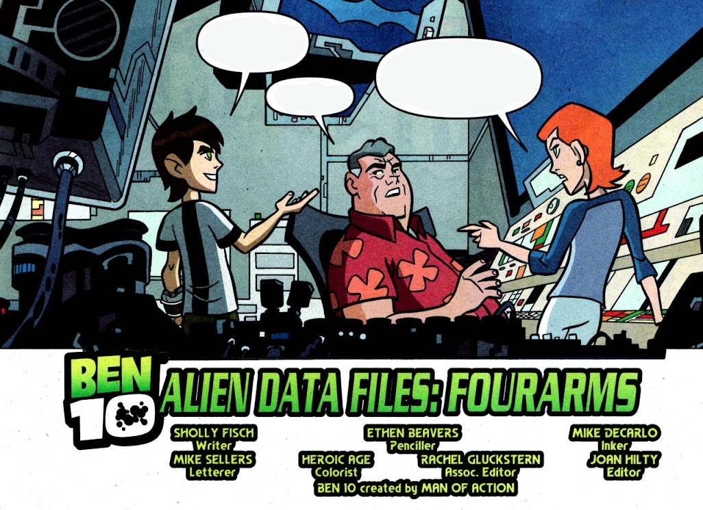 Alien Data Files: Four Arms