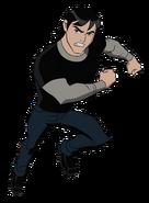 Kevin UAF action pose 8