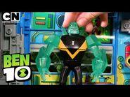 Ben 10 DIAMONDHEAD in The Forbidden Temple! - Ben 10 Toys - Cartoon Network