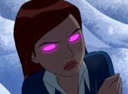 Gwen com olhos rosa