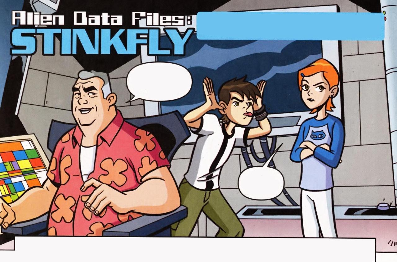 Alien Data Files: Stinkfly