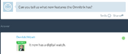 Omnitrix tem um relógio digital
