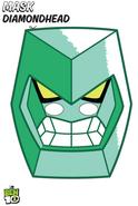 Diamondhead mask
