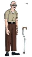 Ben 10 old man design by devilpig