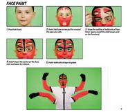 Four arms facepaint 7