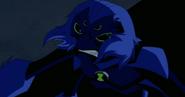 Mono Araña enojado