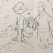 Muroid Rook Da Sketches