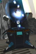 Fusionfall - Nano Waybig and Ultimate BigChill Contained (with Nano Rigby)
