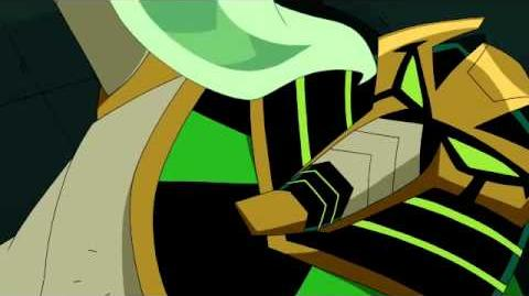 Ben 10 Omniverse - Snare-Oh Transformation and scene